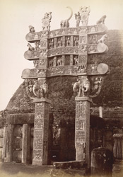 Northern gate of Sanchi Tope